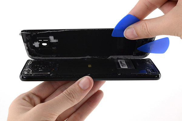 Samsung mobil szerviz - hátlap csere